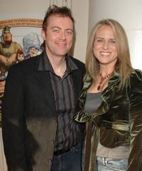 Cory Edwards and Vicky Edwards at the Los Angeles premiere of