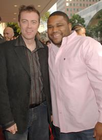 Cory Edwards and Anthony Anderson at the Los Angeles premiere of