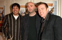 Tony Leech, Todd Edwards and Cory Edwards at the Los Angeles premiere of
