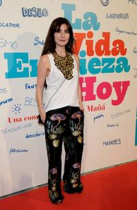 Ana Fernandez at the premiere of