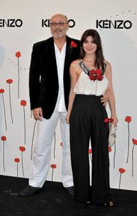 Juan Fernandez and Ana Fernandez at the premiere of