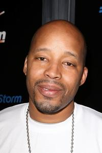 Warren G. at the Verizon & BlackBerry's Grammy Party.