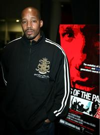 Warren G. at the LA premiere of