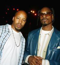 Warren G. and Snoop Dogg at the after party of the premiere of