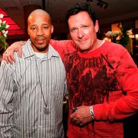 Warren G. and producer Michael Madsen at the after party of the premiere of