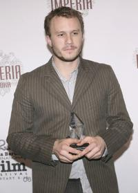 Heath Ledger at the Santa Barbara International Film Festival in California.