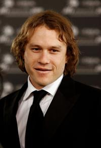 Heath Ledger at he L'Oreal Paris 2006 AFI Awards in Melbourne, Australia.