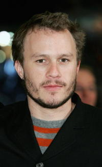 Heath Ledger at the