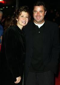 Amy Grant and Vince Gil at the Barbra Streisand Concert.