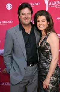 Vince Gil and Amy Grant at the 41st Annual Academy Of Country Music Awards.