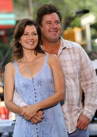 Amy Grant and Vince Gil at the NBC