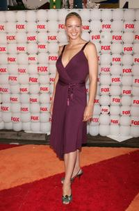 Kristin Lehman at the Fox All-Star Television Critics Association party.