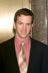 Josh Randall at the NBC upfront in New York.