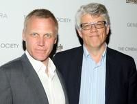 Terry Serpico and Director Peter Tolan at the screening of