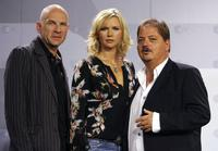 Goetz Schubert, Veronica Ferres and Jurgen Tarrach at the photocall of