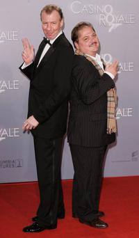 Ludger Pistor and Jurgen Tarrach at the German premiere of