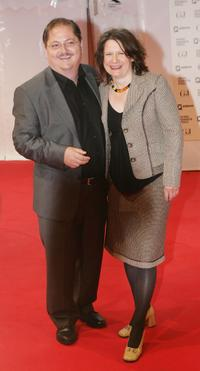 Jurgen Tarrach and Ulrike at the 2007 Henri Nannen Award.