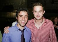 David Krumholtz and Eddie Kaye Thomas at the after-party premiere of