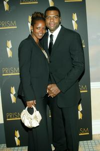 Troy Winbush and Kika at the 9th Annual PRISM Awards.