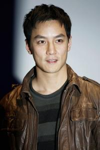 Daniel Wu at the screening of
