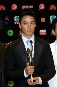 Daniel Wu at the 26th Hong Kong Film Awards.