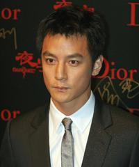Daniel Wu at the premiere of