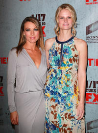 Natalie Zea and Joelle Carter at the California premiere of