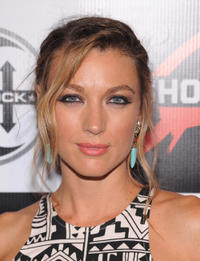 Natalie Zea at the G-Shock 30th Anniversary Kick Off Event in New York.