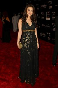 Preity Zinta at the 5th Annual Dubai International Film Festival.