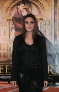 Preity Zinta at the screening of