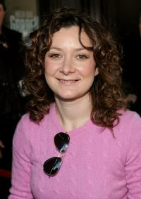 Sara Gilbert at The WB Upfront.