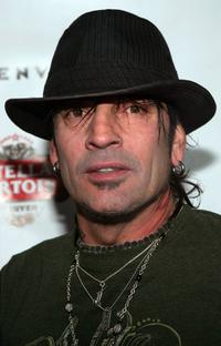 Tommy Lee at the Benderspink & Thrive records Night during the Sundance Film Festival.