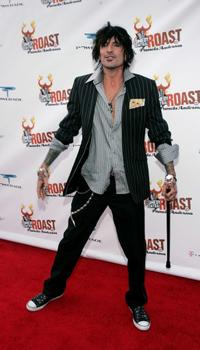 Tommy Lee at the Comedy Central Roast of Pamela Anderson.