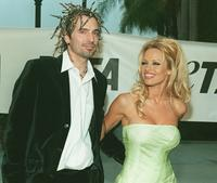 Tommy Lee and Pamela Anderson at the