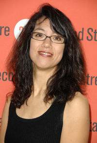 Sandra Tsing Loh at the Second Stage Theatre's New Works Festival in New York.