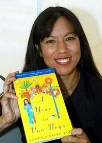 Sandra Tsing Loh at the 1st Annual West Hollywood Book Fair.