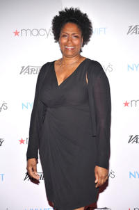 Nancy Giles at the Women In Film and Television Honors NYWIFT's Designing Women in New York.
