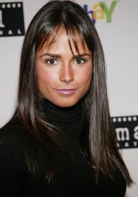 Jordana Brewster at the FilmAid International benefit party.