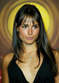 Jordana Brewster at the M and M's Brand City party.