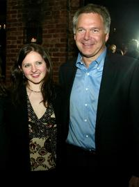 Jessica Campbell and Jonathan Sehring at the New York premiere of