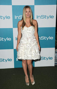 Kaley Cuoco at the 10th Annual InStyle Summer Soiree in California.