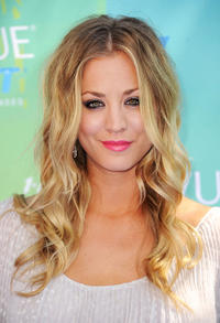 Kaley Cuoco at the 2011 Teen Choice Awards in California.
