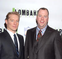 Bill Dawes and Chris Sullivan at the Broadway opening night of