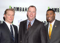 Bill Dawes, Chris Sullivan and Robert Christopher Riley at the Broadway opening night of