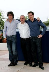 Riccardo Scamarcio, Director Daniele Luchetti and Elio Germano at the photocall of