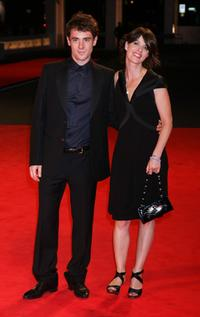 Elio Germano and Irene Jacob at the premiere of