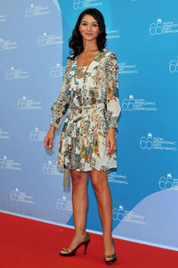 Nicole Grimaudo at the photocall of