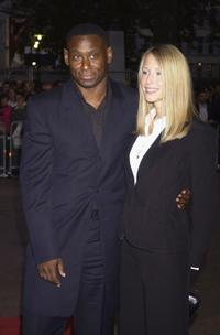 David Harewood and Kirsty Vice at the Screen Nation Film and Television Awards 2003.