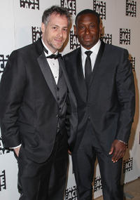 Editor Jordan Goldman and David Harewood at the 63rd Annual ACE Eddie Awards in California.