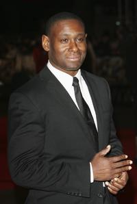 David Harewood at the UK premiere of